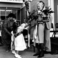 News_20_The Menil Collection opening, June 3, 1987_Dominique de Menil_grandchildren