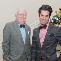News, Holiday Schmooze, Dec. 2014, Jackson Hicks, Milton Townsend
