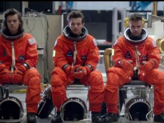 One Direction at NASA