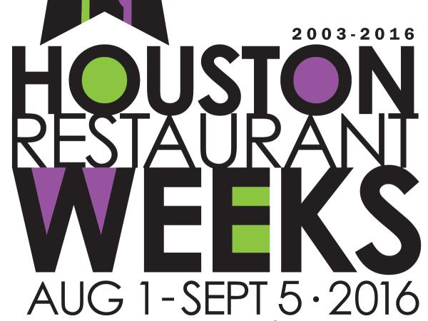 Houston Restaurant Weeks HRW 2016 logo