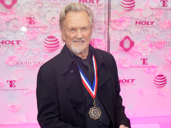 Texas Medal of Arts Awards Kris Kristofferson