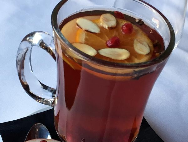 Houston, Etoile, December 2015, Mulled Pomegranate Tea