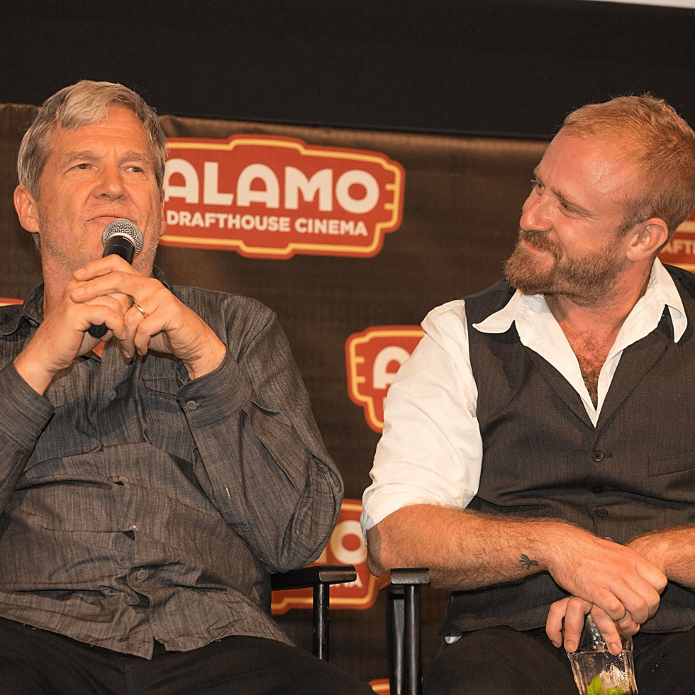 Hell or High Water Austin premiere Alamo Drafthouse panel Jeff Bridges Ben Foster