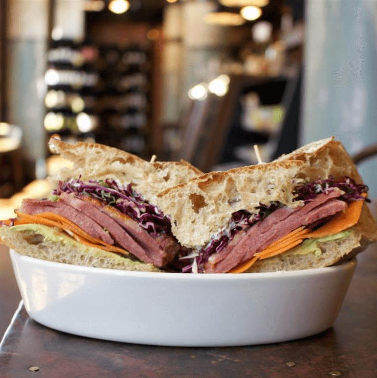 Larder San Antonio restaurant market sandwich