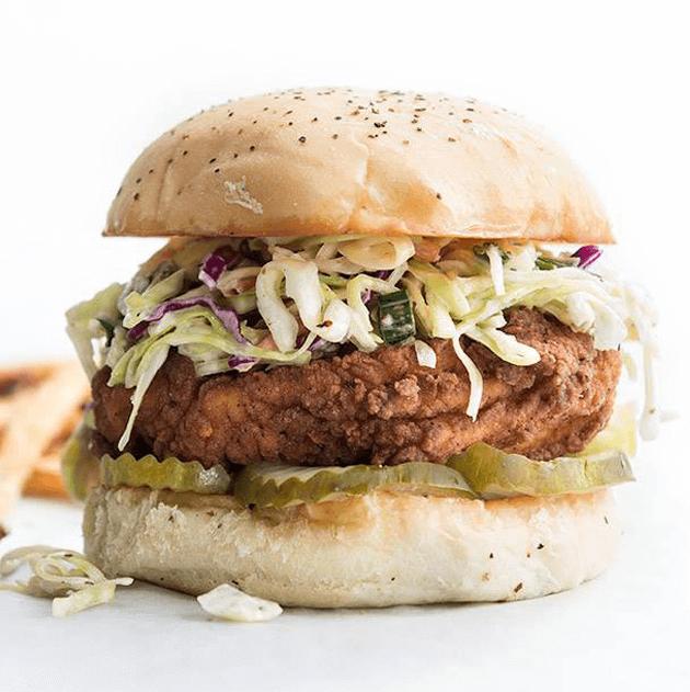 Super Chix chicken sandwich