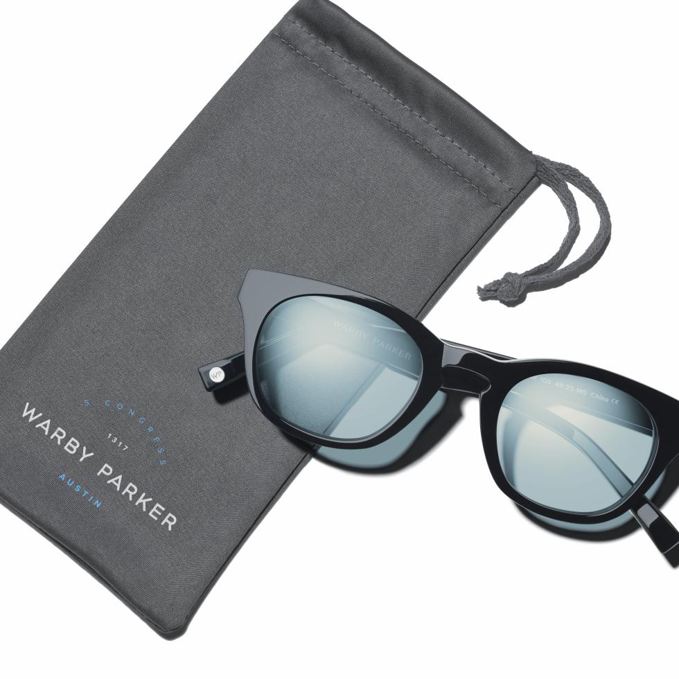 Warby Parker Caspar frame sunglasses Austin exclusive 2016