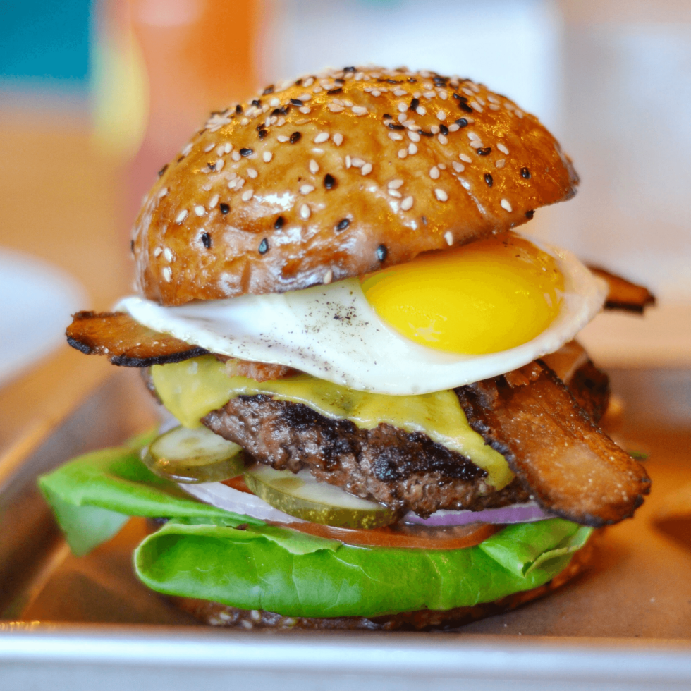 Delicious Austin restaurant market brunch burger