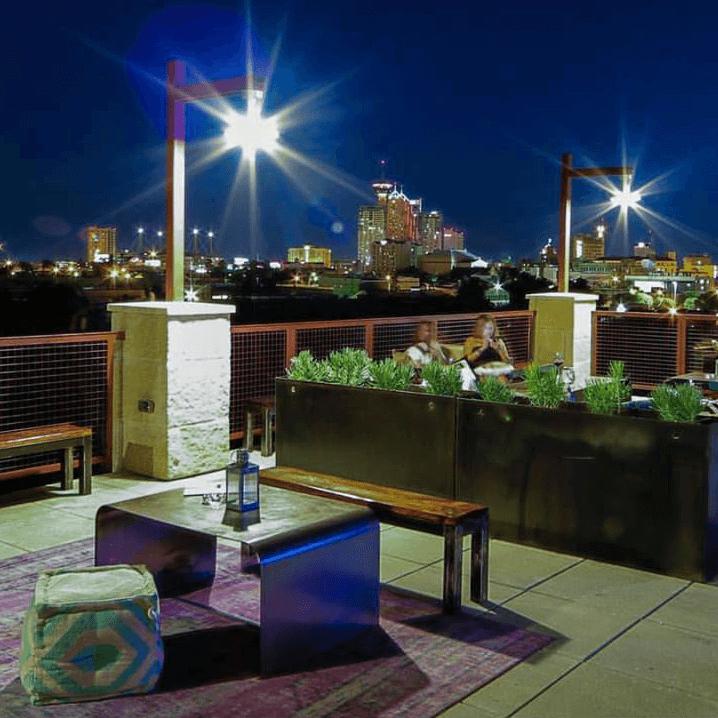 Paramour bar San Antonio view patio