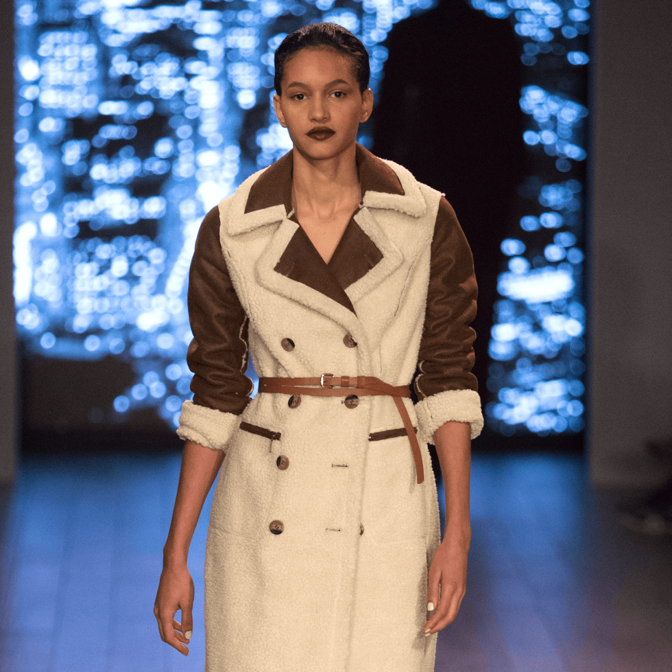 Look from HSN Presents Serena Williams Signature Statement Collection Fashion Show at Kia STYLE360