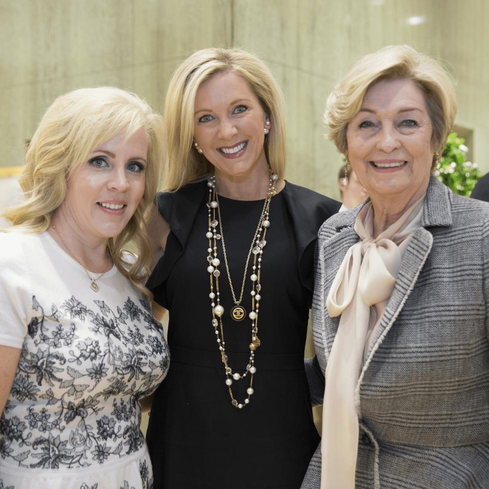 Leigh Anne Haugh, Amy Hegi, Nancy Carter