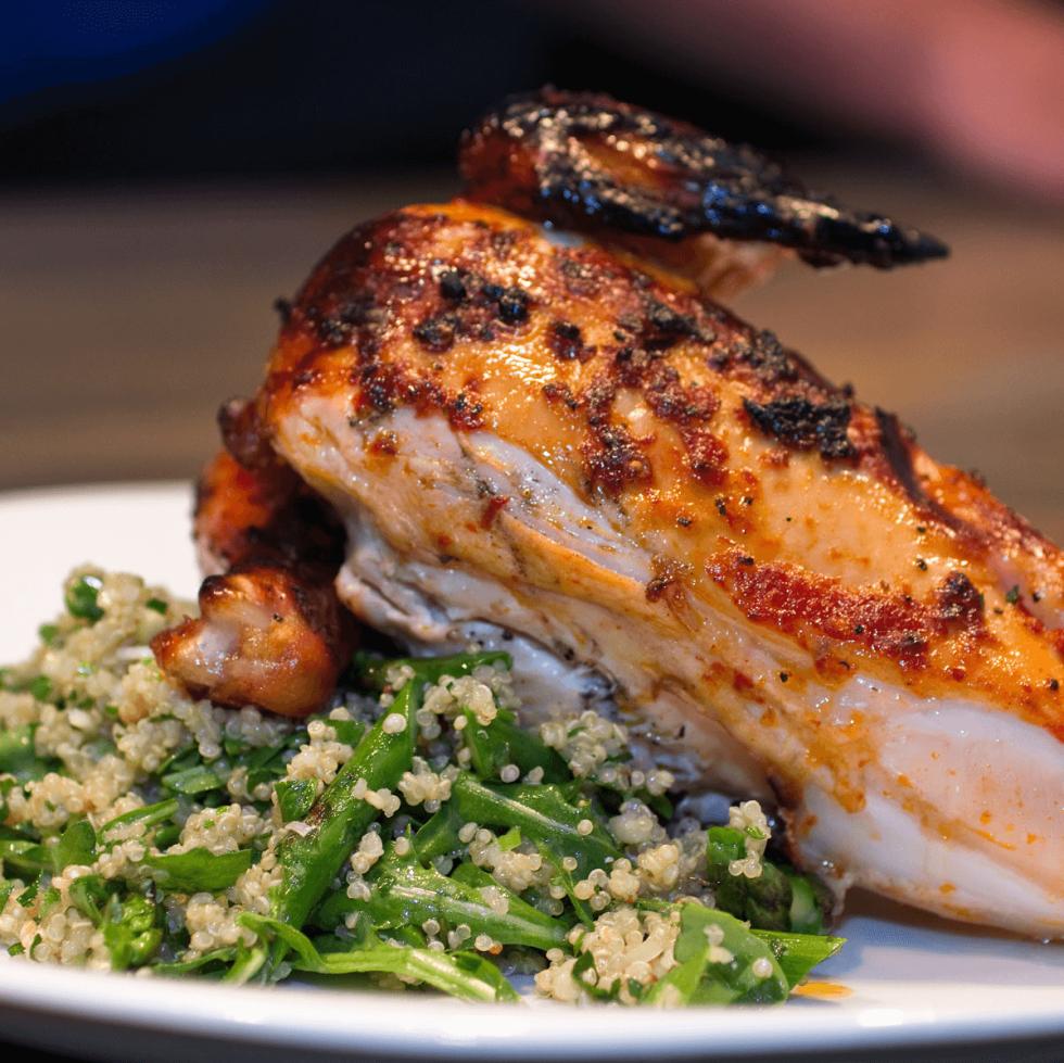 Chicken at Stock & Barrel restaurant in Dallas