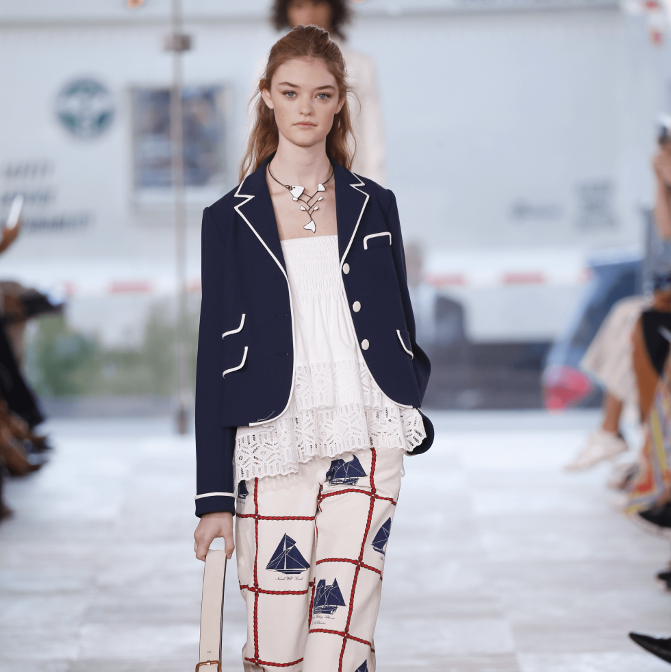 Tory Burch spring 2017 collection look 13
