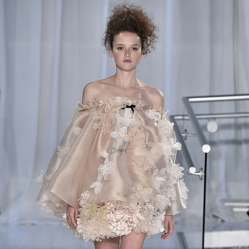 Reem Acra spring 2017 collection dress