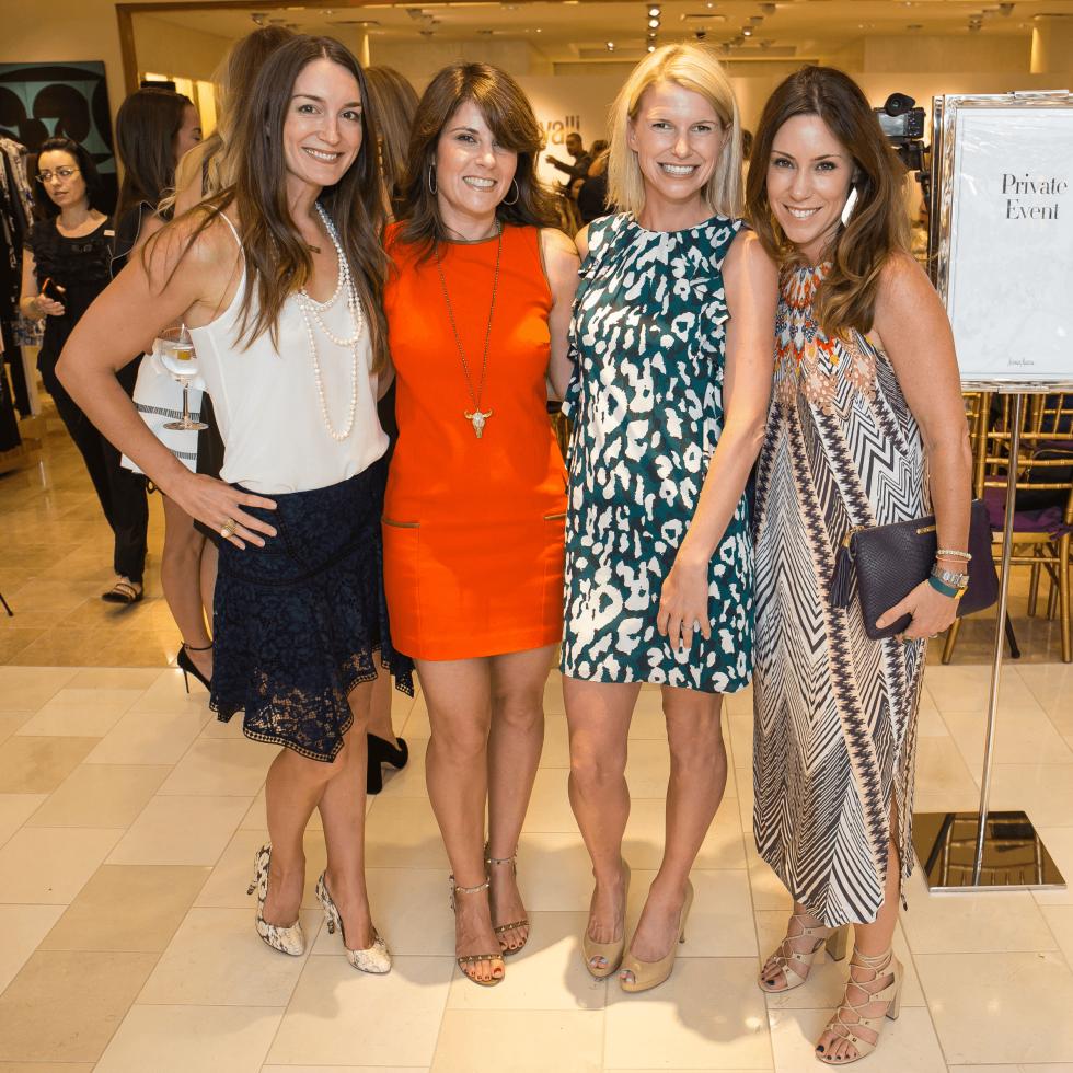 Roberto Cavalli fall fashion show DKR Fund benefit 2016 Amanda Oudt Holly Brown Megan Matza Laura Hurst