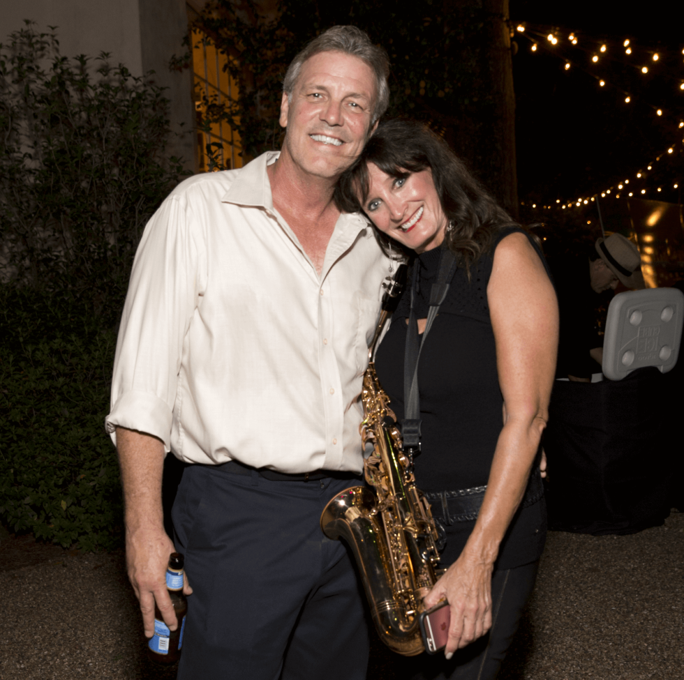 Kraig Williamson, Colleen Holthouse at Bayou Preservation Association Gala