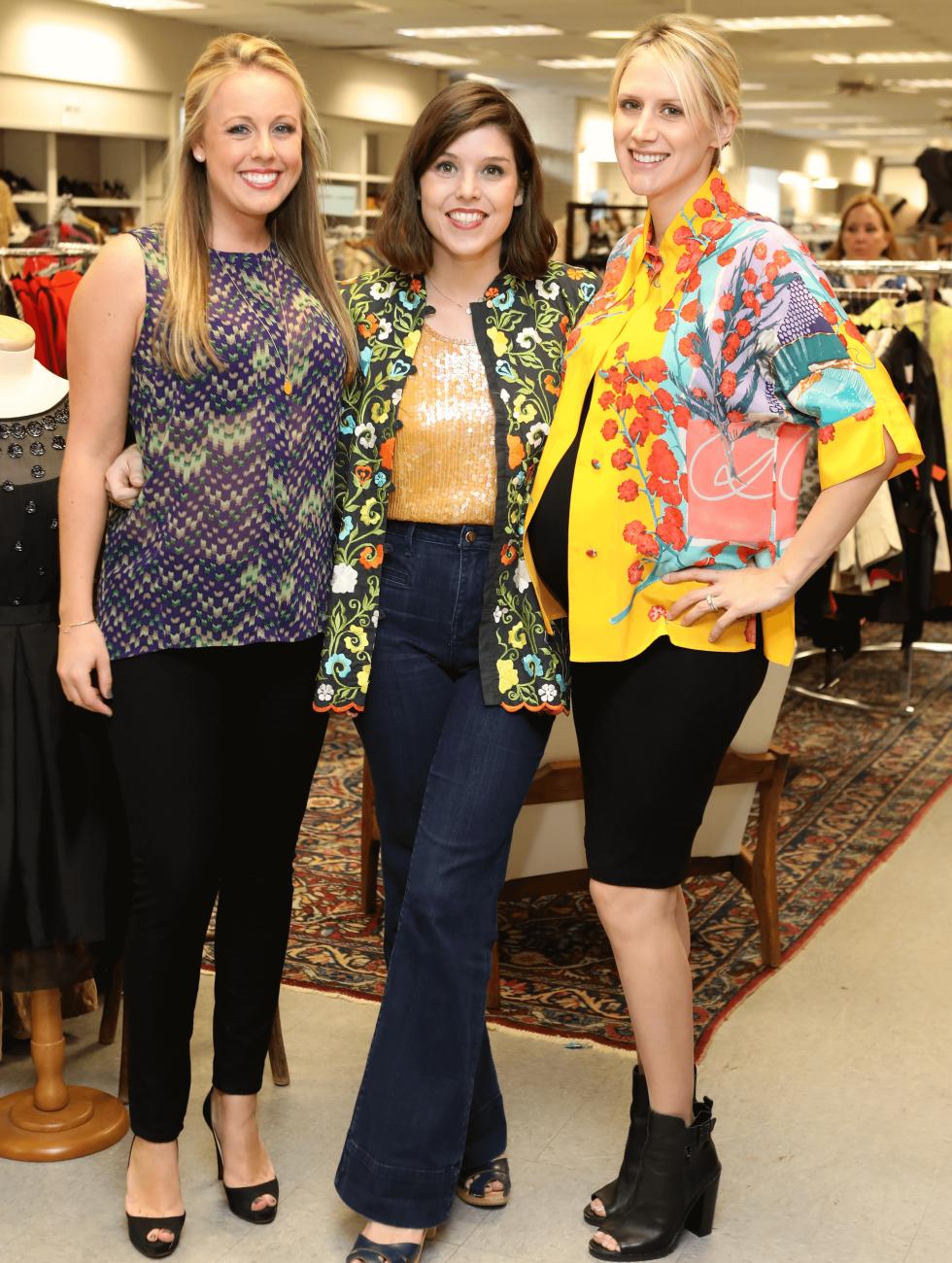 Houston, Blue Bird Circle Young Professional Partnership, Oct 2016, Catherine Luebe, Regina Romano, Ashley Forrest