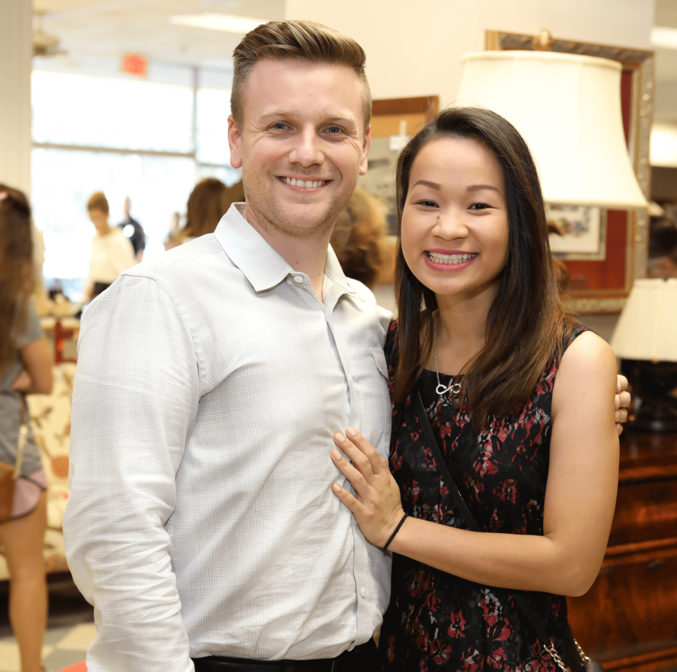 Houston, Blue Bird Circle Young Professional Partnership, Oct 2016, Jon Willingham, Manita Thai