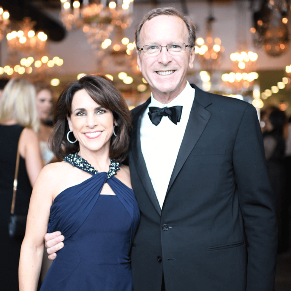 Jungle Book Gala,Maria Bush, Neil Bush