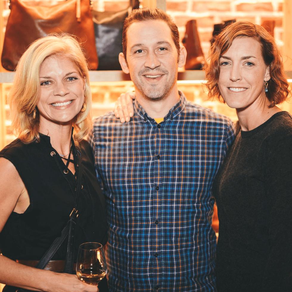 The Frye Company Austin grand opening 2016 Sam Davidson Todd Duplechan Jessica Maher