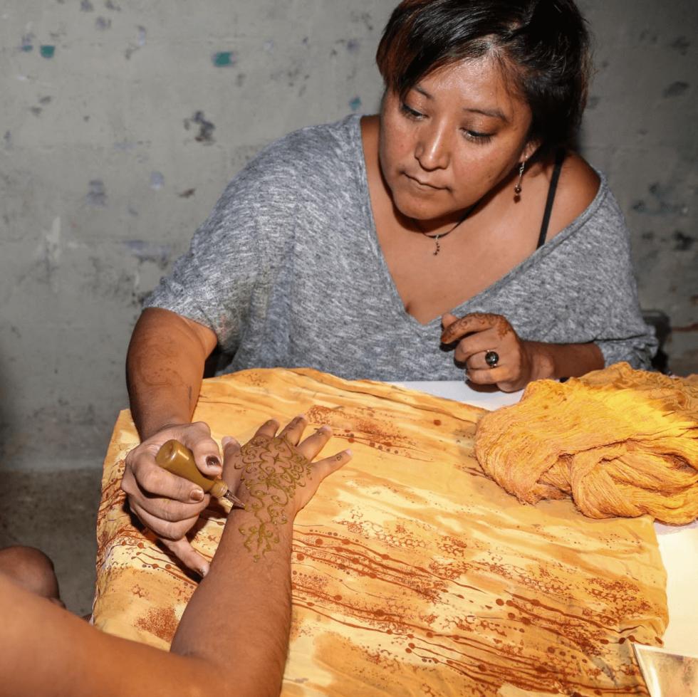 CultureMap Social Top Texans Under 30 Henna Tattoos