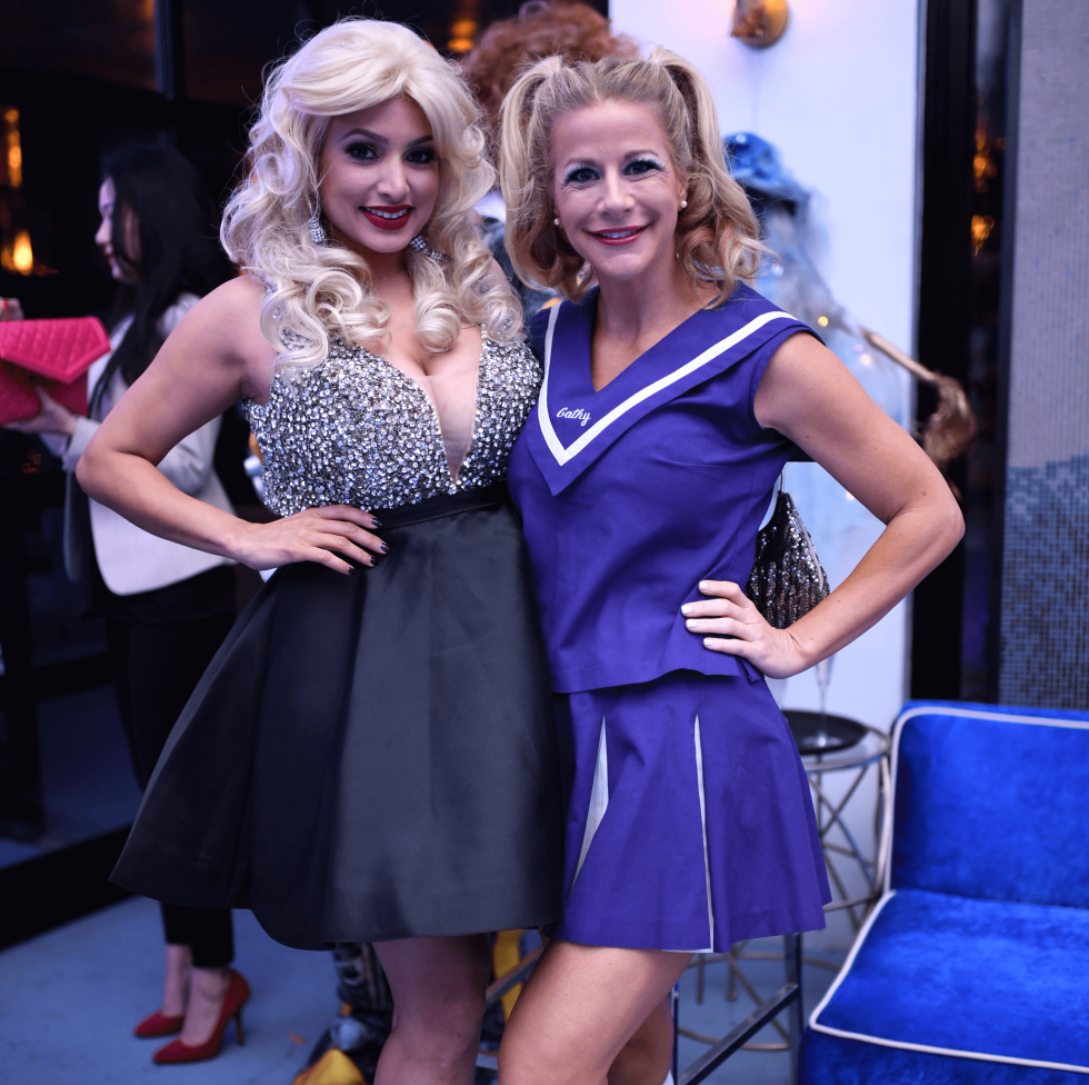 Houston, Hollywood Hollyween Party, Oct. 2016, Dr. Monica Patel, Hollie Wells