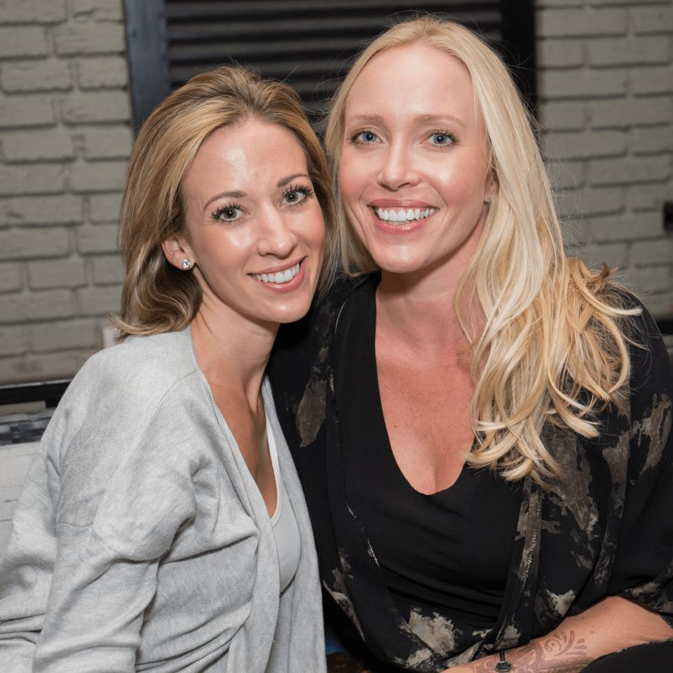 BumbleBFF party at Sophia's October 2016 Jennifer Miller Chris Spears