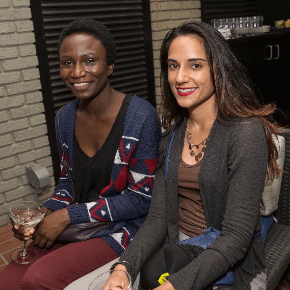 BumbleBFF party at Sophia's October 2016 Nav Kaur Rae Adu