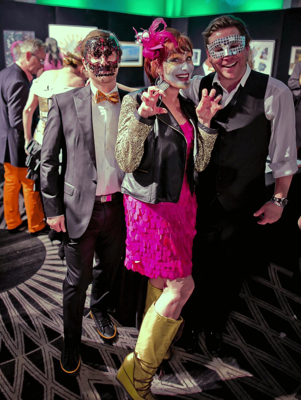 Houston, Orange Show gala, Oct 2016, Patrick Jez, Curry Glassell, Christopher Mendel