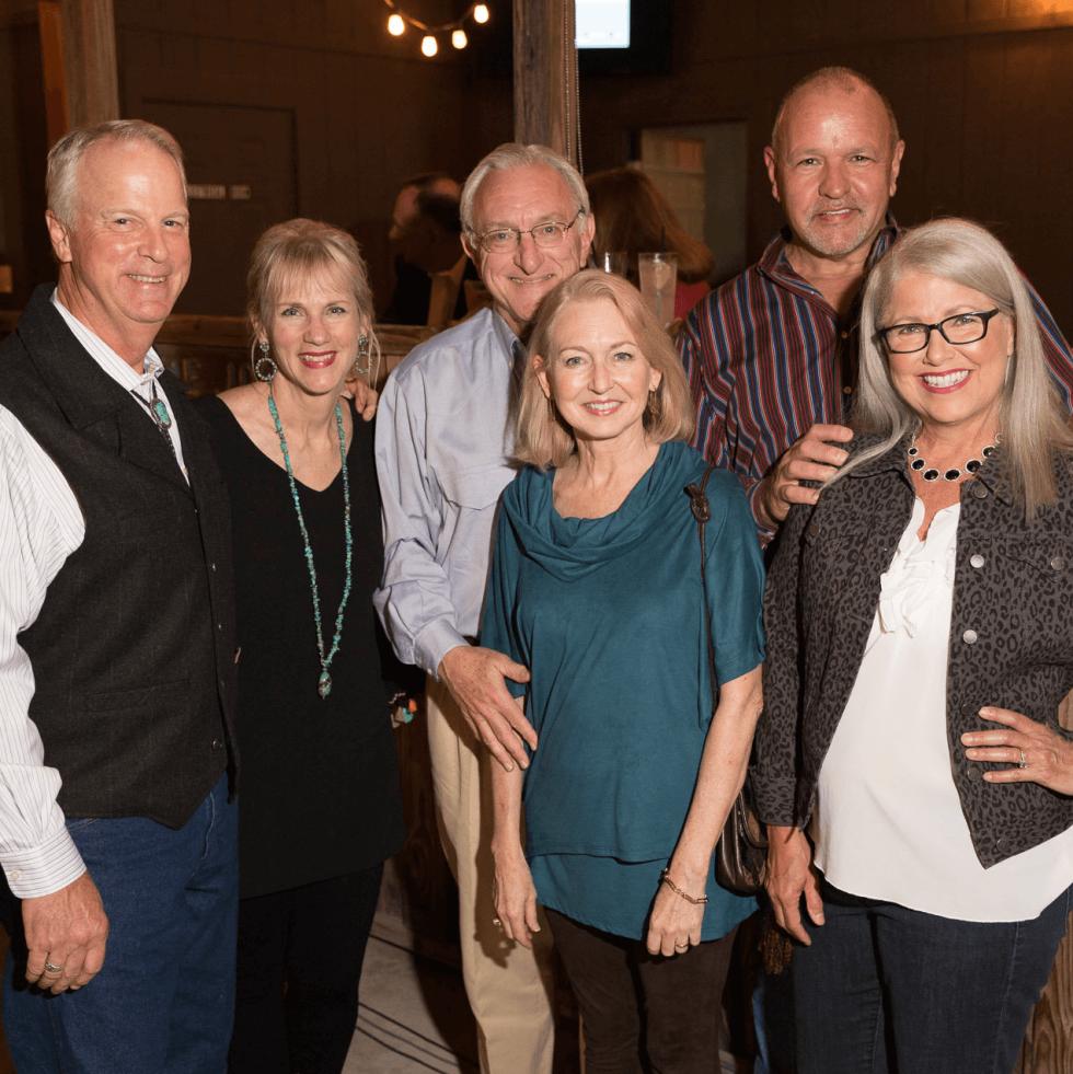 John Ammons, Kathy Koons, Reyn Longino, Joe Longino, Fran & Michael Riggs