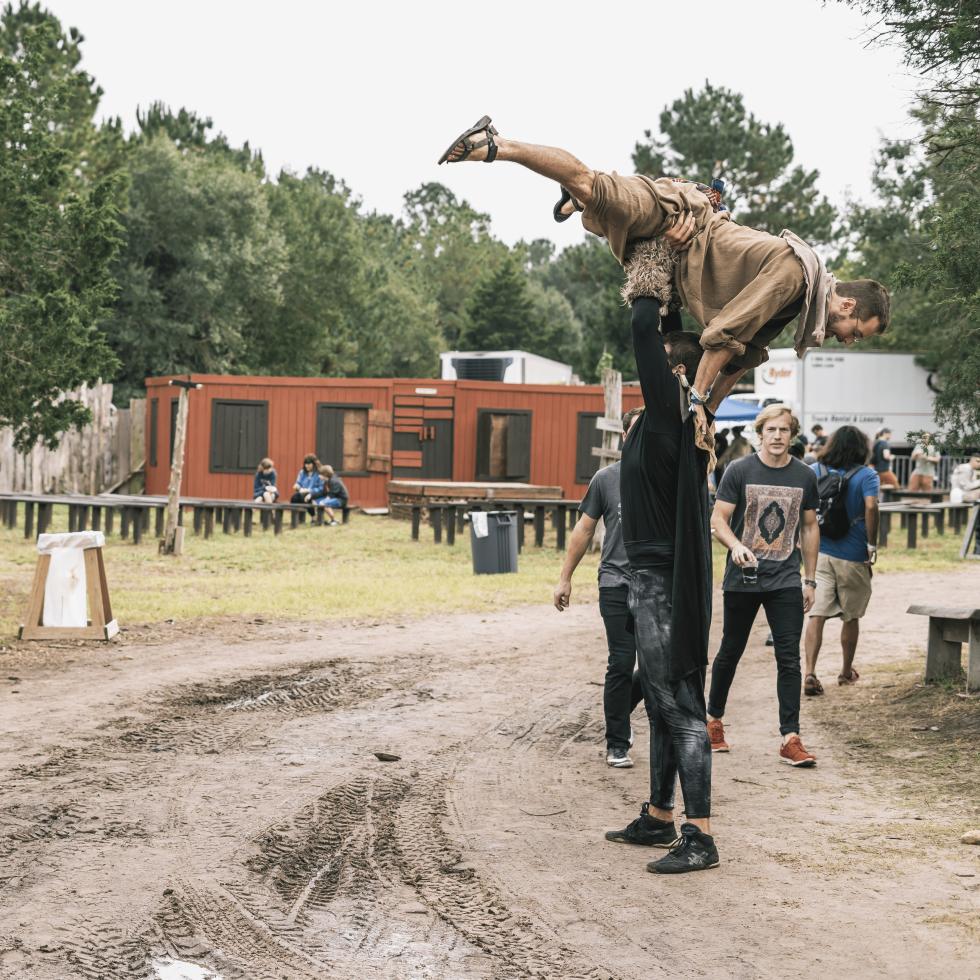 Sound on Sound Fest 2016 Sherwood Forest Giant