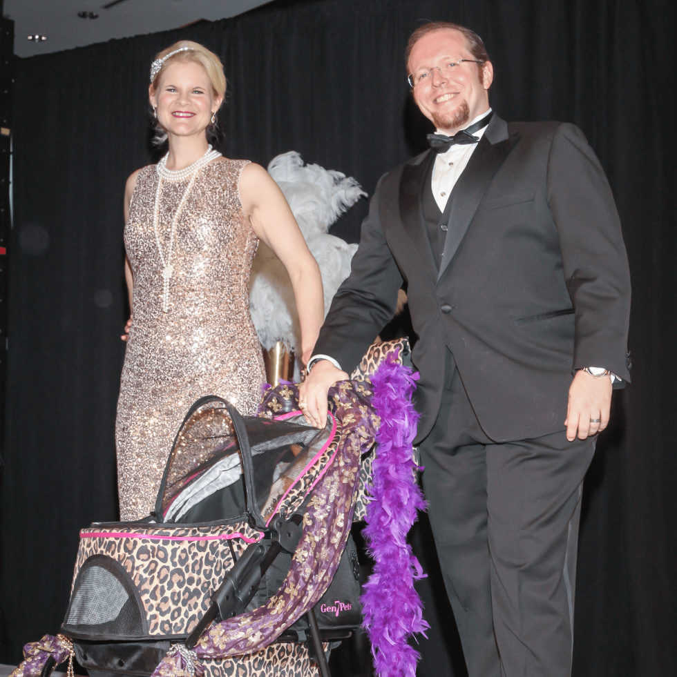 Cindy and Jack Childress with Pak Oliver at CAP Gala