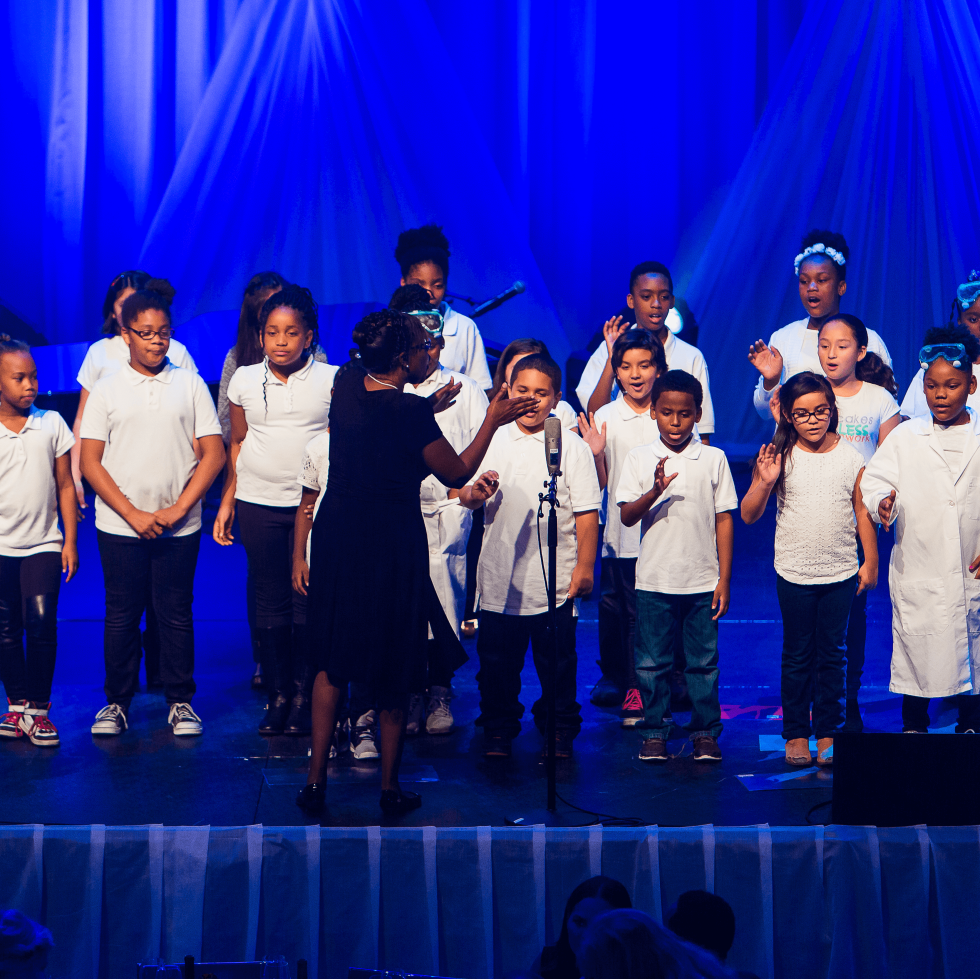 Andy Roddick Foundation Gala 2016 Pecan Springs Elementary School choir