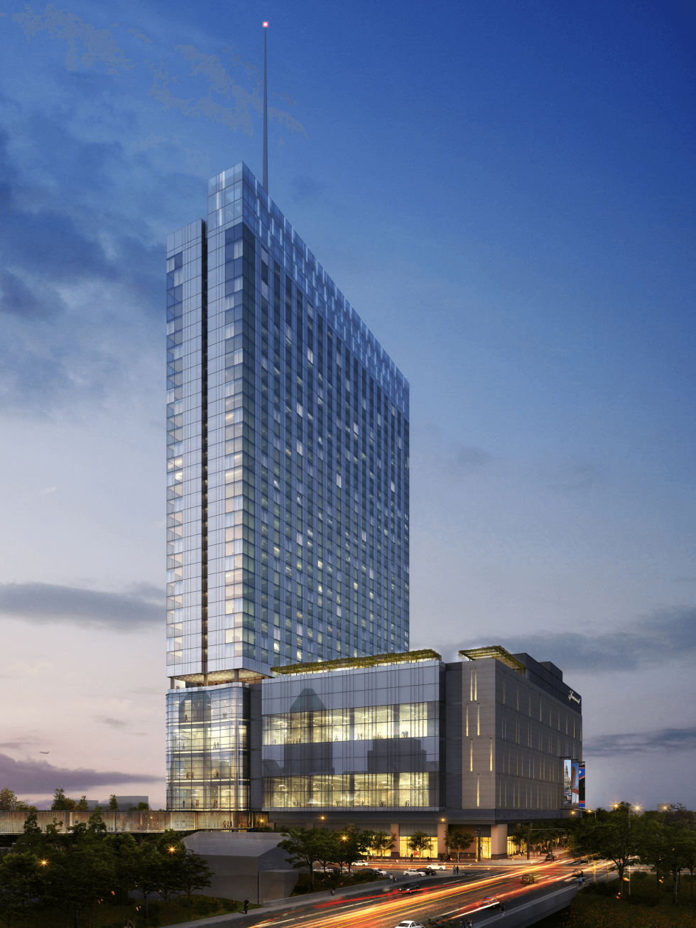 The Fairmont Austin Hotel Rendering October 2014