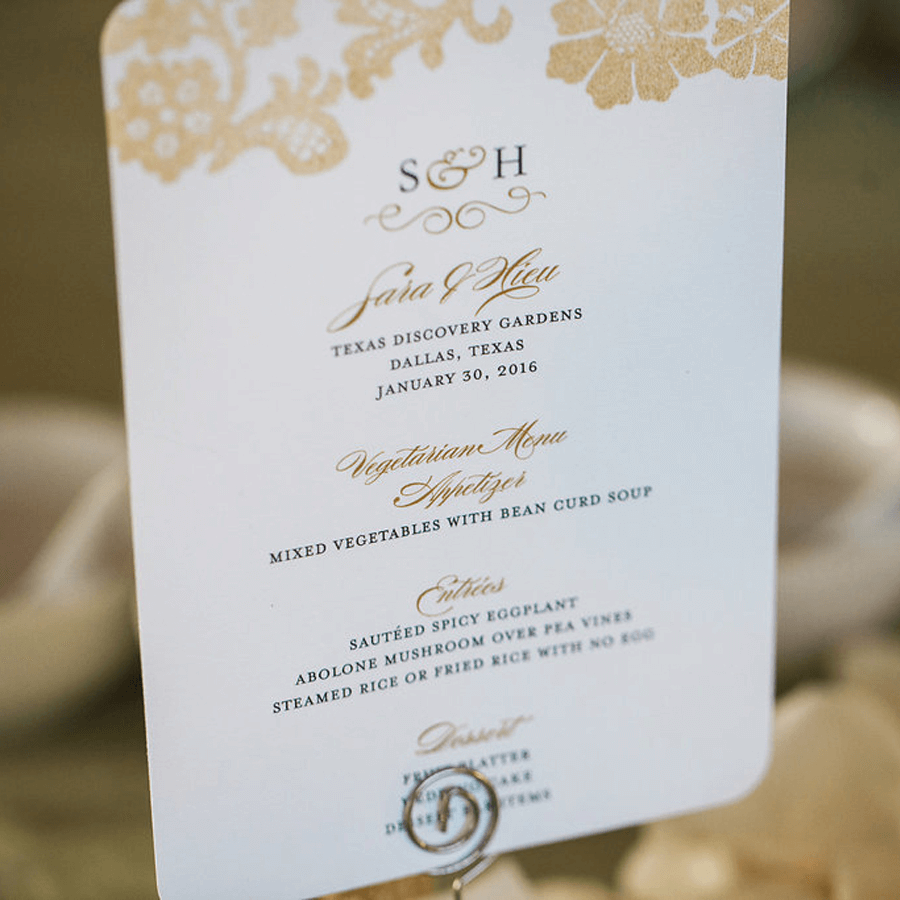 Sara + Hieu Real Weddings