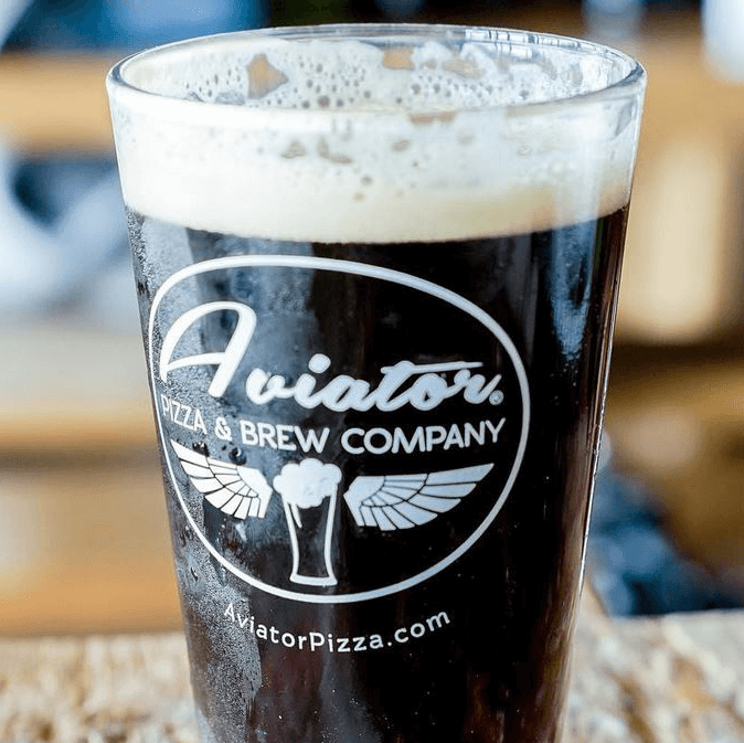 Aviator Pizza & Brew Company Drafthouse beer