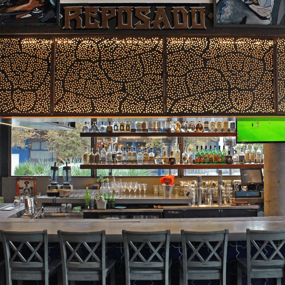 El Burro Tex Mex and Bar restaurant bar