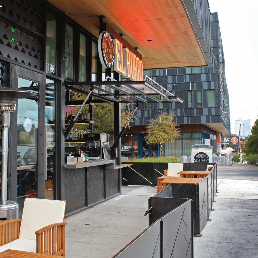 El Burro Tex Mex and Bar restaurant patio