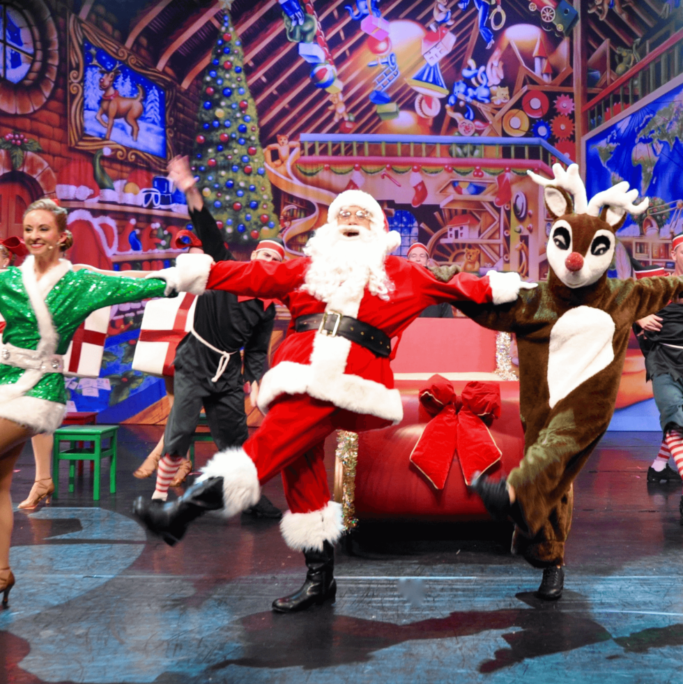 Cast of Broadway Christmas Wonderland