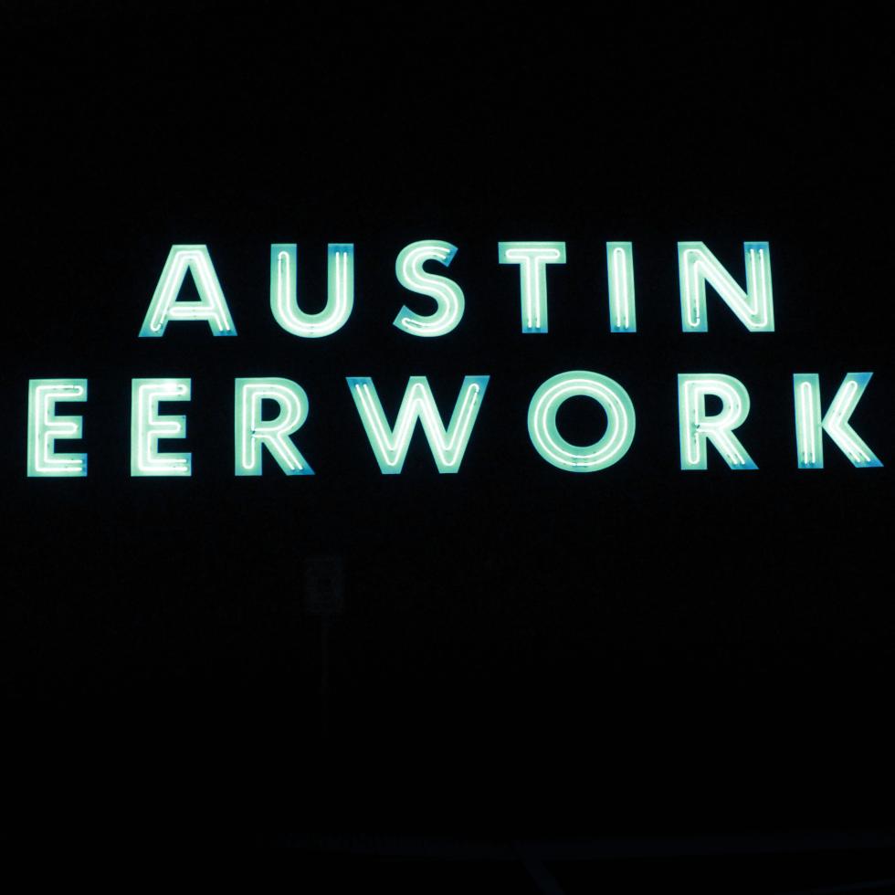 Austin Beerworks brewery exterior sign