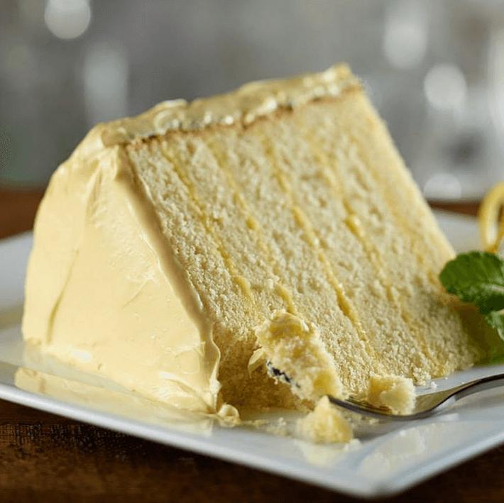 Del Frisco's Grille, lemon cake