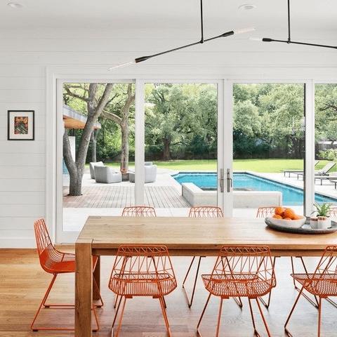 Austin house home Houzz modern farmhouse Northwest Lakemoore