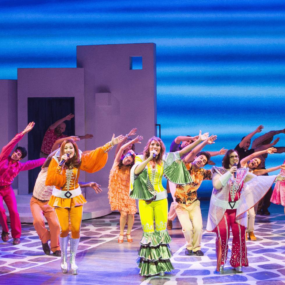Mamma Mia farewell tour cast 2017