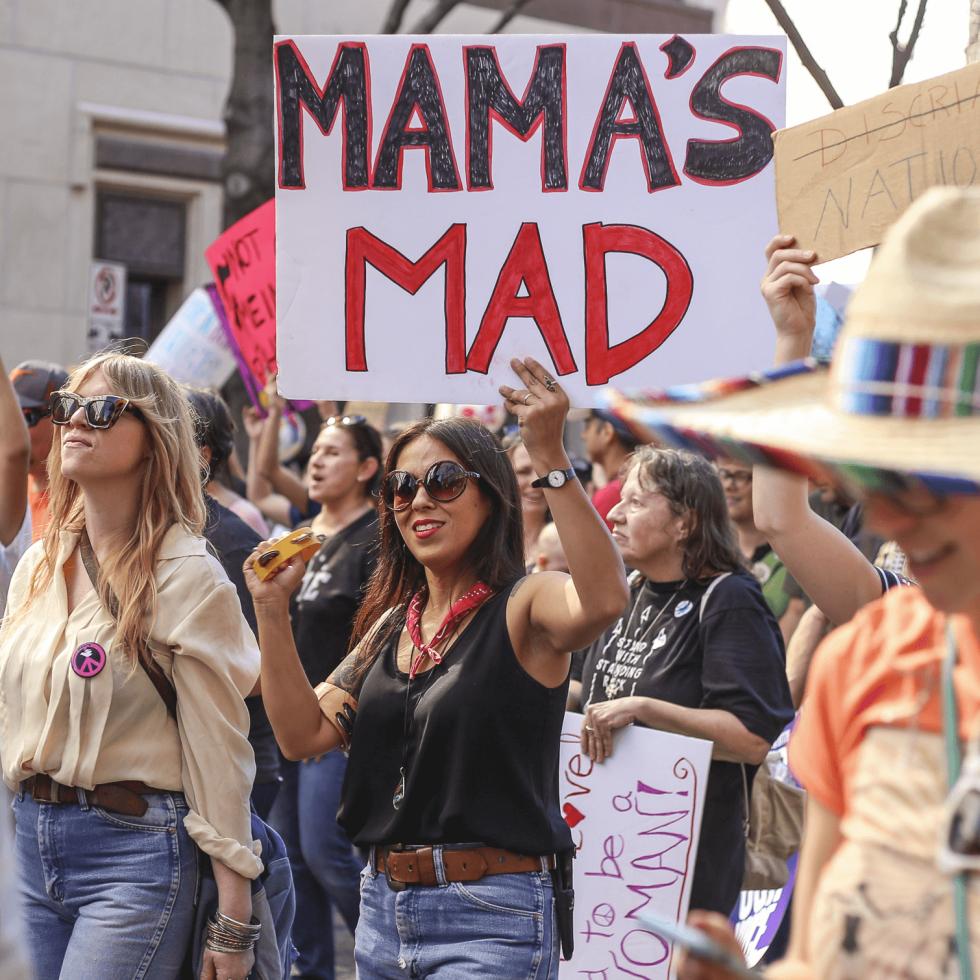 Women's March Austin Audrie San Miguel
