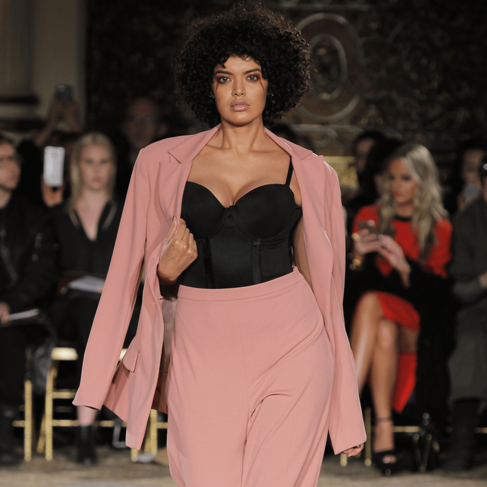 Christian Siriano fall 2017 collection look 8