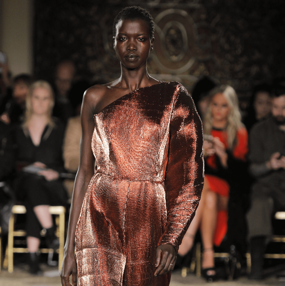 Christian Siriano fall 2017 collection look 29