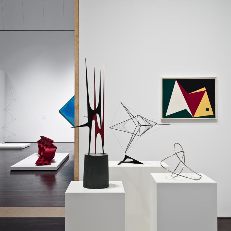 Blanton Museum of Art Latin American galleries installation 2017