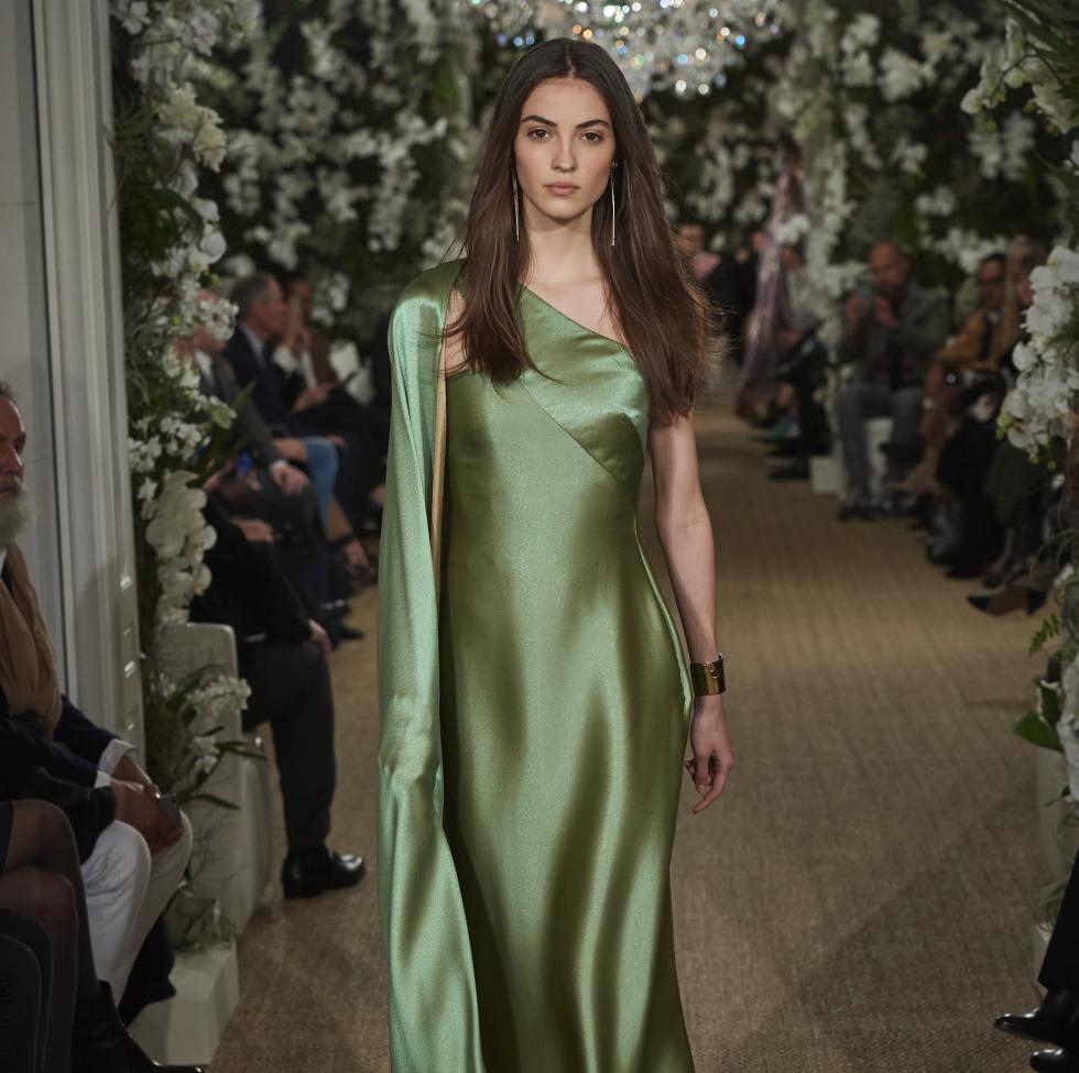 Ralph Lauren fall 2017 gown look 30