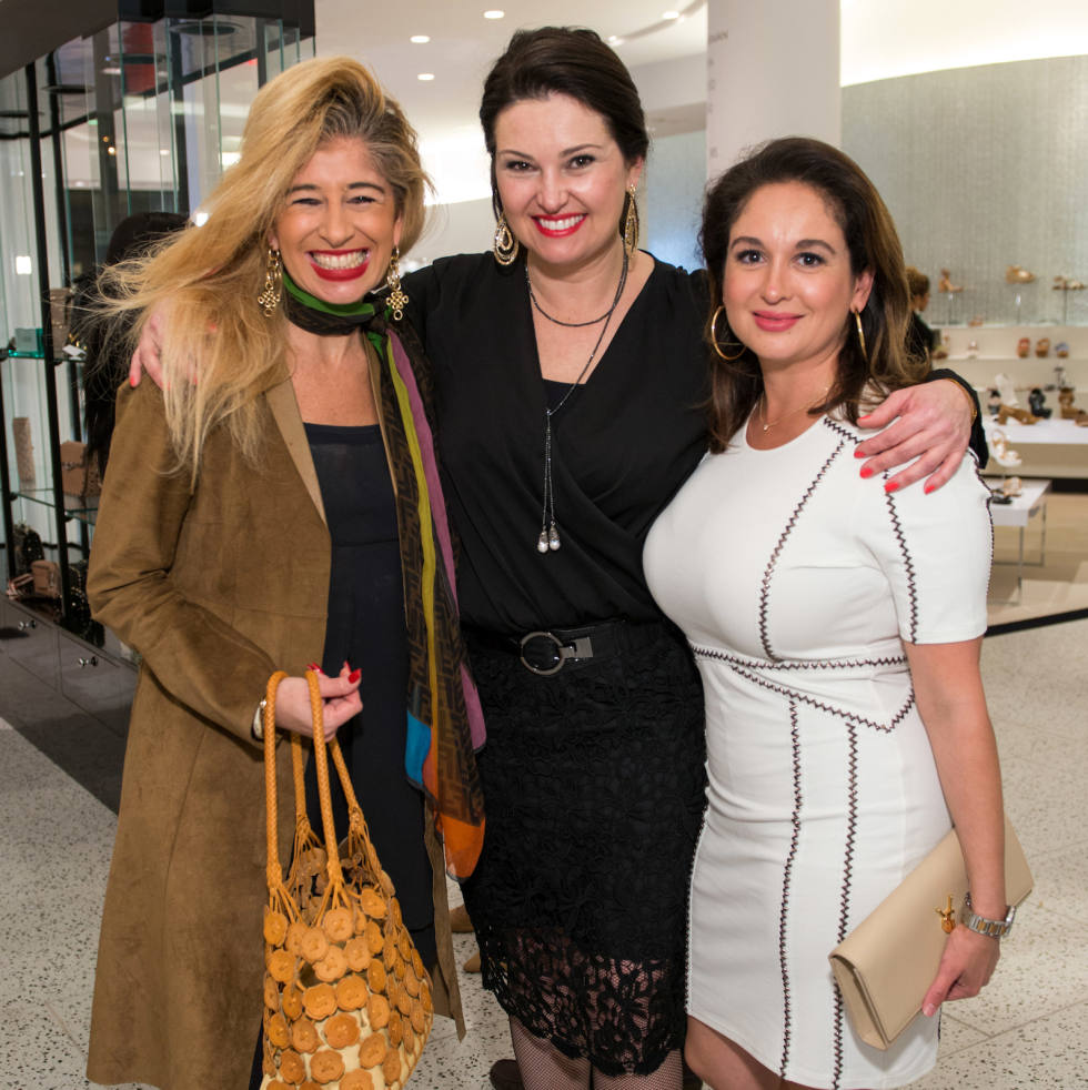 Houston, Latin Women's Initiative Fashion Show and Luncheon, feb 2017, Sofia Androgue, Claudia Lobao, Michelle Fraga
