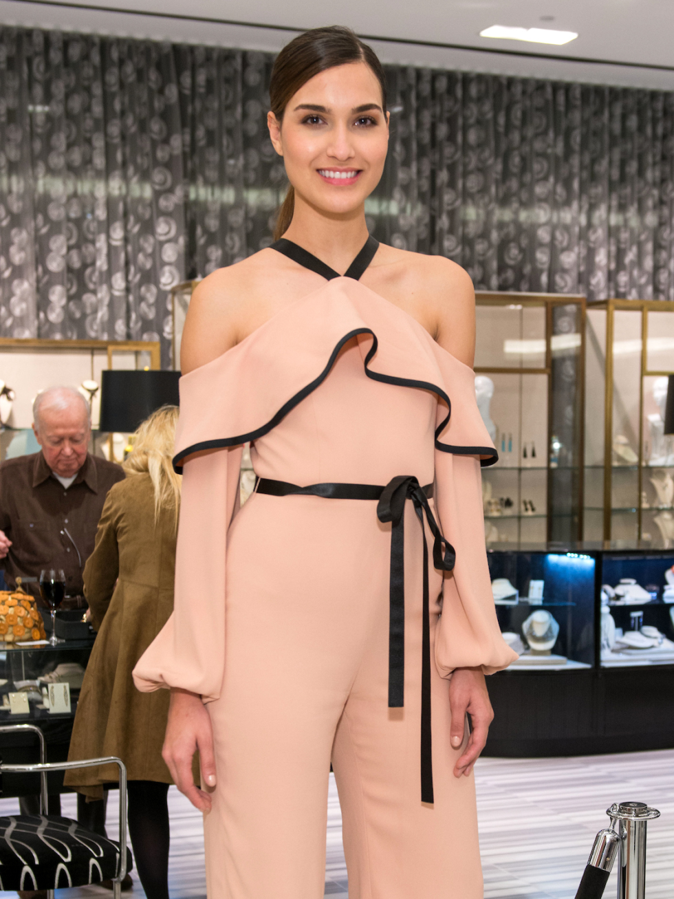 Houston, Latin Women's Initiative Fashion Show and Luncheon, feb 2017, Tootsies Model