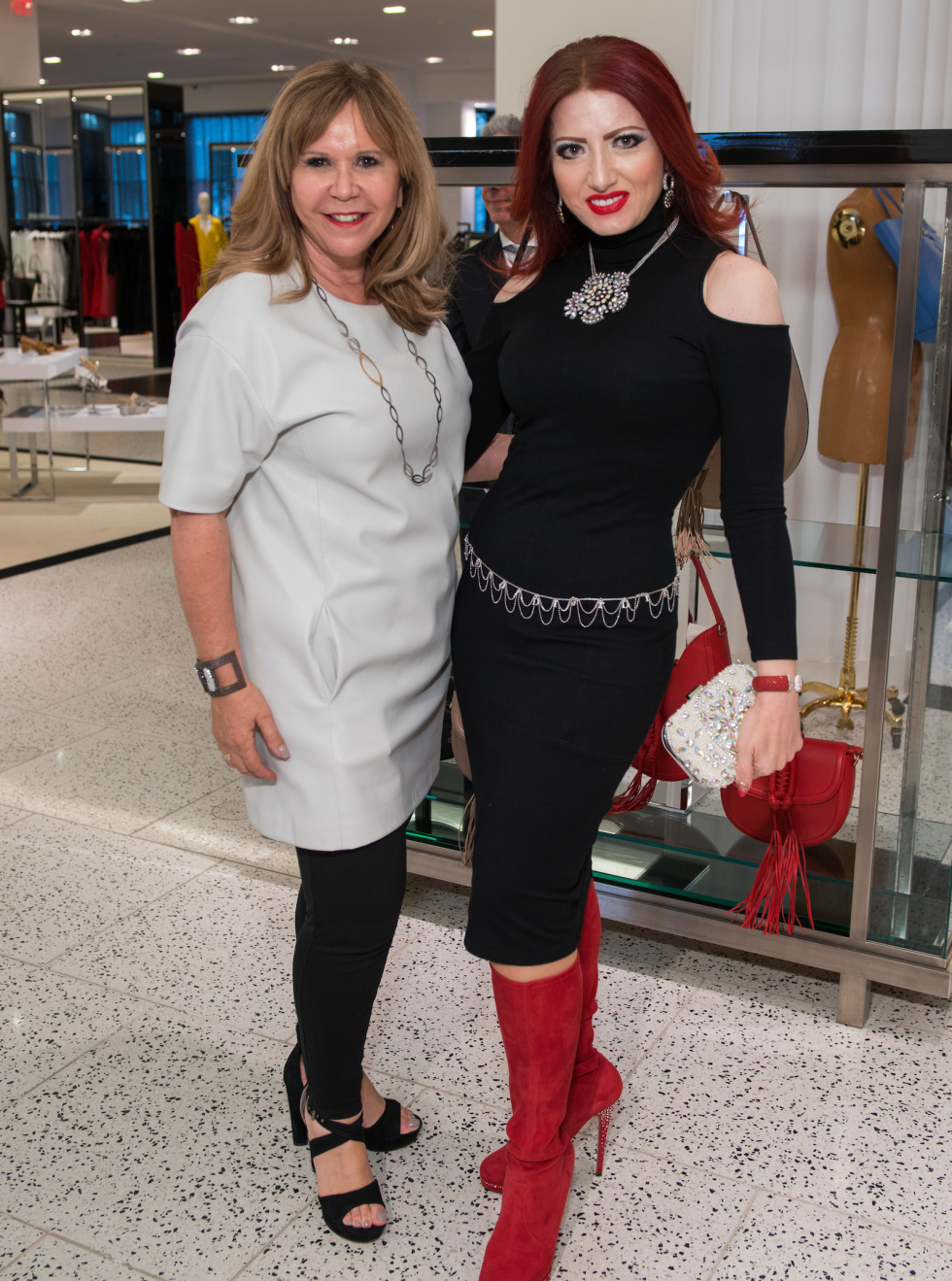 Houston, Latin Women's Initiative Fashion Show and Luncheon, feb 2017, Cyndy Garza Roberts, Yasmine Haddad